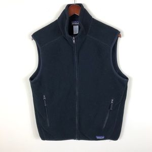Patagonia Men's Black Fleece Vest